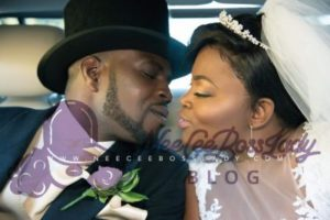 funke akindele celebrate 1st wedding anniversary