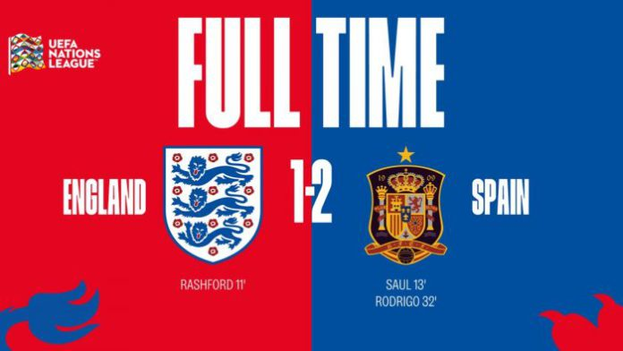 Download England vs Spain 1-2 – Highlights Video